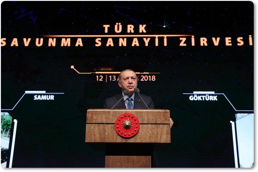 """Cumhurbaşkanı Erdoğan,""""Bilim, geliştirme ve üretim uyumunu esas alan sanayi ekosistemi kurmakta kararlıyız"""""""