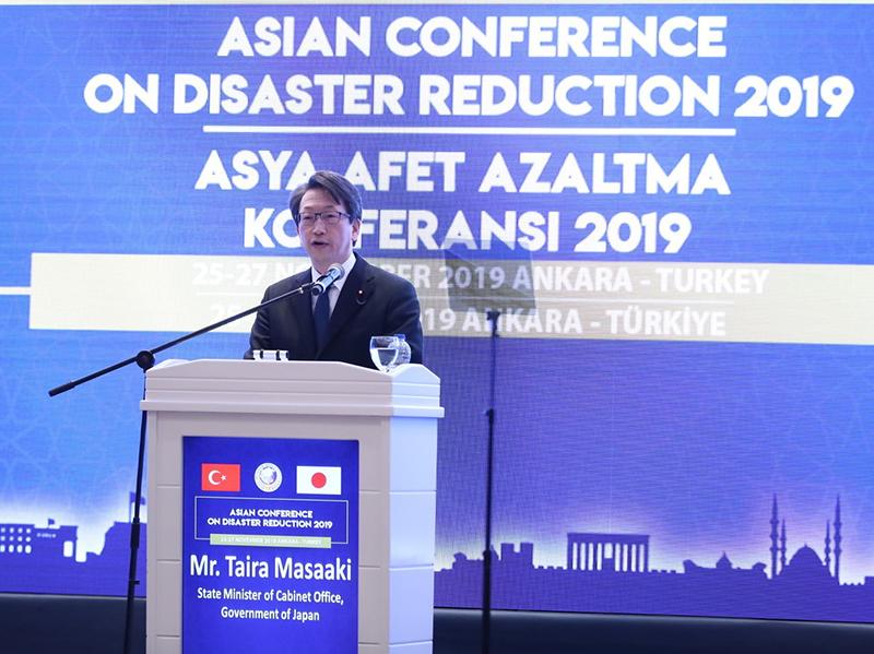 Asya Afet Azaltma Konferansı Bu Yıl Ankara'da Düzenlendi