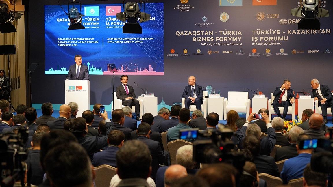 Türkiye-Kazakistan İş Forumu düzenlendi