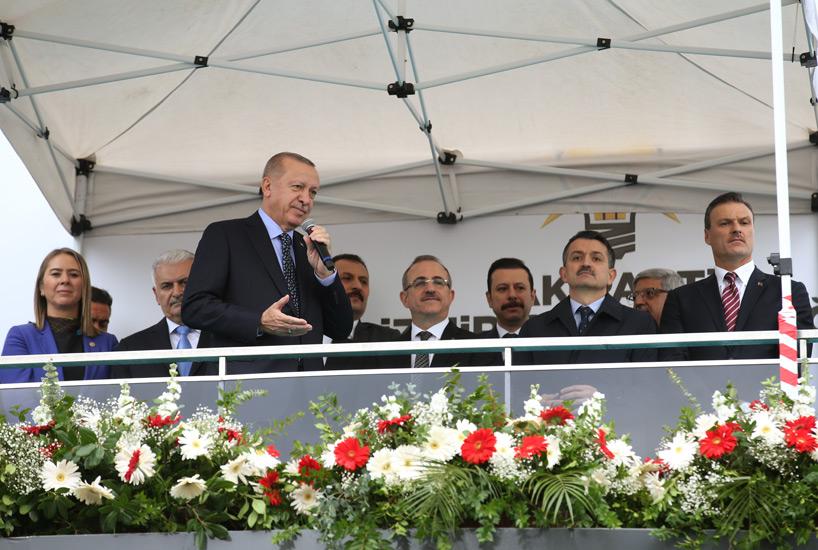 """Cumhurbaşkanı Erdoğan """"Gelecek kuşaklara daha özgür ve çok daha güçlü bir Türkiye bırakmanın mücadelesini veriyoruz"""""""