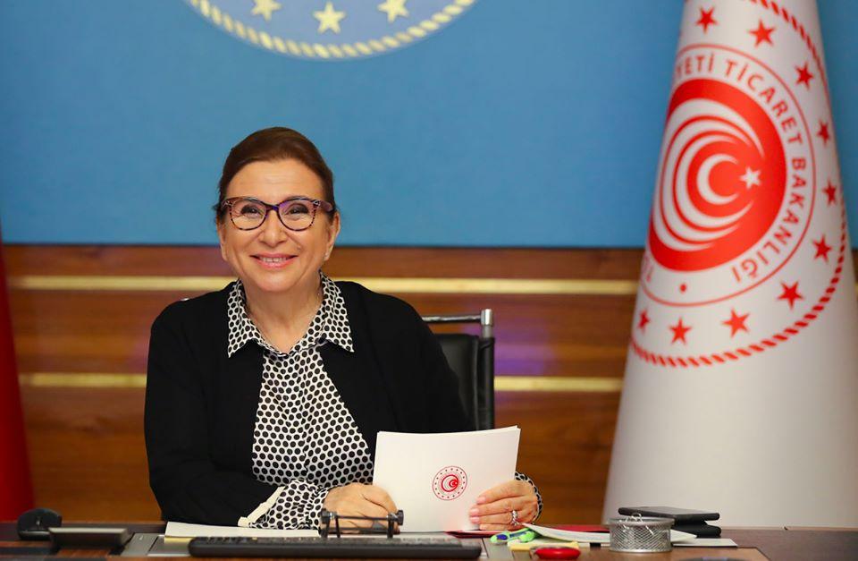 Ticaret Bakanı Ruhsar Pekcan,Rekabet Kanunu'ndaki değişiklikleri değerlendirdi