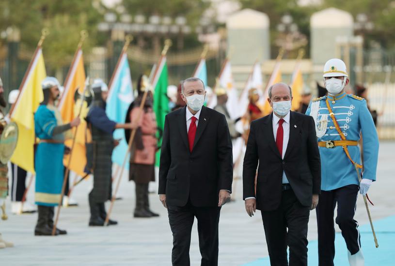 KKTC Cumhurbaşkanı Ersin Tatar, Cumhurbaşkanlığı Külliyesinde