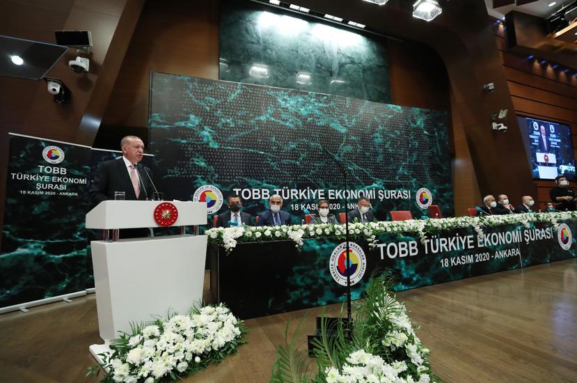 """Cumhurbaşkanı Erdoğan,""""Ülkemiz hazırlık devrini geride bırakıp artık şahlanış dönemine giriyor"""""""